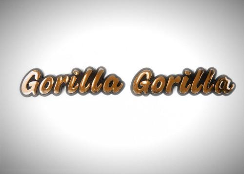HONDA GORILLA STICKER DECALS