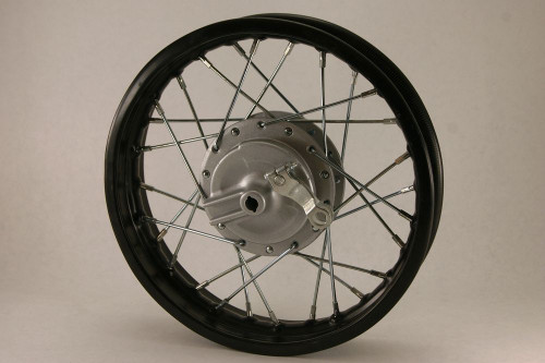 "12"" CRF50 FRONT WHEEL WITH DRUM - 12"" x 1.6"