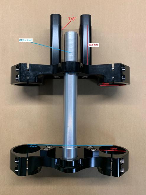 PIRANHA X CRF50 CLAMP - 45mm/48mm