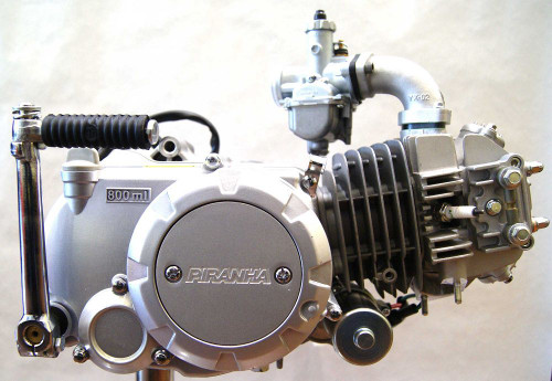 Piranha 140cc semi-auto 4 speed, electric start. Fits right into an ATC70!