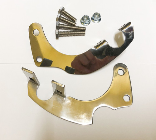 Stainless Steel cradle mount for Honda CRF50 XR50. By Piranha