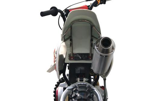 KLX110 REAR FENDER BRACE - STAINLESS STEEL ('02-'09)