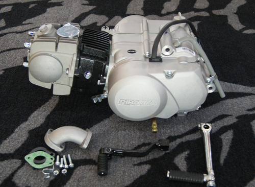 125cc PIRANHA ENGINE - front clutch model