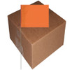 Marking Flags Orange 4 inch x 5 inch Flag with 30 inch Wire Staff (1000 Piece/Pack)