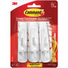3M 17001 Command Hooks and Strips Value Pack- Medium (6 Pack)