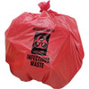 Infectious Waste Bags Red 40 inch x 48 inch x 2mil (50 Per/Pack)