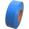Fluorescent Blue Flagging Tape 1 3/16 inch x 150 ft Roll Non-Adhesive