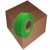 Fluorescent Green Flagging Tape 1 3/16 inch x 150 ft Roll Non-Adhesive (12 Roll/Pack)
