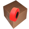 Fluorescent Orange Flagging Tape 1 3/16 inch x 150 ft Roll Non-Adhesive (12 Roll/Pack)