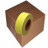 Fluorescent Yellow Flagging Tape 1 3/16 inch x 150 ft Roll Non-Adhesive (12 Roll/Pack)