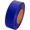 Blue Flagging Tape 1 3/16 inch x 300 ft Roll Non-Adhesive