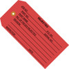 Inspection Tags REJECTED Red 4 3/4 inch x 2 3/8 inch (1000 Per/Pack)