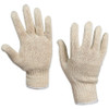 String Knit Cotton Gloves - Large (12 Pairs)
