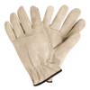 Deluxe Cowhide Leather Drivers Gloves - Large (3 Pairs)