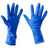 Latex Industrial Gloves Powder Free w/ Ext. Cuffs - Small (100 Gloves)