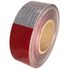 DOT-C2 2 inch x 50 yard 3 Year Conspicuity Tape 11 inch Red 7 inch White