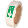 Directional Fire Exit Glow Tape 1 inch x 30 ft Roll - Left