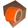 Orange Super Bright High Intensity Reflective Tape 3 inch x 30 ft  (8 Roll Pack)