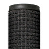 Deluxe Rubber Backed Carpet Mat Charcoal 4 ft x 10 ft x 1/4 inch