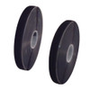 Black Hook and Loop Combo adhesive back 1 inch x 25 yard Rolls