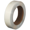 Hand Grade Polypropylene Strapping White  1/2 inch x .017 x 9000 ft Roll on 16 inch x 6 inch Core