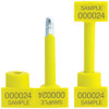 Bolt Seals Yellow 3/4 inch x 3 1/4 inch (50 Per/Pack)