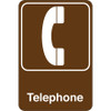 Facility Sign 9 inch x 6 inch - Telephone
