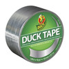 Chrome Metallic Color Duck brand Duct Tape 1.88 inch x 10 yard Roll