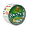 Brushed Stripes Duck brand Duct Tape 1.88 inch x 10 yard Roll