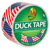 American Flags Duck brand Duct Tape 1.88 inch x 10 yard Roll