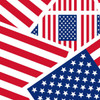 """American Flags Duck brand Duct Tape 1.88"""" x 10 yard Roll"""