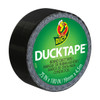 Ducklings Mini Duck Tape Brand Duct Tape Black 0.75 inch x 15 ft Roll