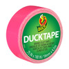 Ducklings Mini Duck Tape Brand Duct Tape Neon Pink 0.75 inch x 15 ft Roll