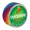 Ducklings Mini Duck Tape Brand Duct Tape Rainbow 0.75 inch x 15 ft Roll