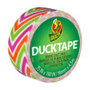 Ducklings Mini Duck Tape Brand Duct Tape Colors Zig Zag 0.75 inch x 15 ft Roll