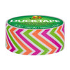 """Ducklings Mini Duck Tape Brand Duct Tape Colors Zig Zag 0.75"""" x 15 ft Roll"""
