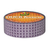 "Duck Texture Duck Brand Crafting Tape 0.75"" x 15 yard Roll - Purple Dot"
