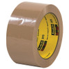 Carton Sealing Tape 3M 373 Tan 2 inch x 55 yard Roll (36 Roll/Pack)