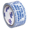Tape Logic Security Tape  inchIf Seal Has Been inch 2 inch x 110 yard Roll (6 Pack)