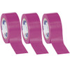 Tape Logic Purple Solid Vinyl Safety Tape 2 inch x 36 yard Roll (3 Pack)