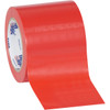 Tape Logic Red Solid Vinyl Safety Tape 4 inch x 36 yard Roll (16 Roll/Pack)