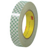 3M 410M Double Sided Masking Tape 1 inch x 36 yard Roll (36 Roll/Pack)