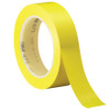 3M Vinyl Tape 471 Yellow 1 inch x 36 yard Roll (36 Roll/Pack)