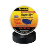 """3M 33+ Electrical Tape Black 1 1/2"""" x 108' Roll (10 Pack)"""