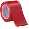 3M Vinyl Tape 471 Red 3 inch x 36 yard Roll (12 Roll/Pack)