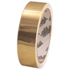 Tape Planet Polished Gold 1 inch x 10 yard Roll Metalized Polyester Tape (60 Roll/Pack)