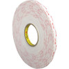 3M 4945 VHB Tape White 1/2 inch x 5 yard Roll (45 Mil)