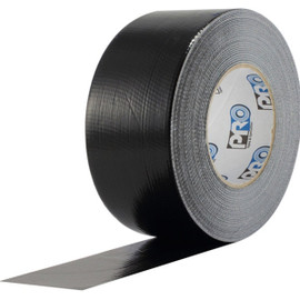 Pro Duct 120 Premium 3 inch x 60 yard Roll (10 mil) Black Duct Tape (16 Roll/Pack)