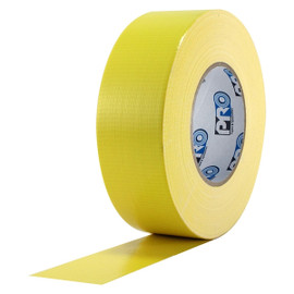 Pro Duct 120 Premium 2 inch x 60 yard Roll (10 mil) Yellow Duct Tape (24 Roll/Pack)