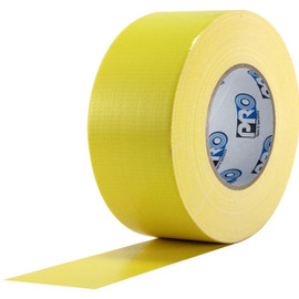 Pro Duct 120 Premium 3 inch x 60 yard Roll (10 mil) Yellow Duct Tape (16 Roll/Pack)
